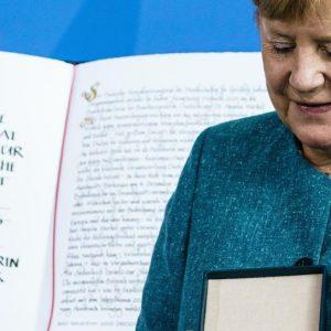 """""""Bleibende Aufgabe, jüdisches Leben in Deutschland zu stärken"""", sagt Merkel (WELT)"""